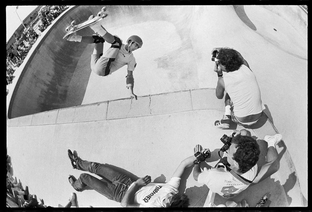 11x14, 16x20, 18x24 and 24x36 Lance Mountain Upland 1985 Skateboarding Photo - J Grant Brittain