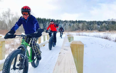 How to layer for fat bike winter riding