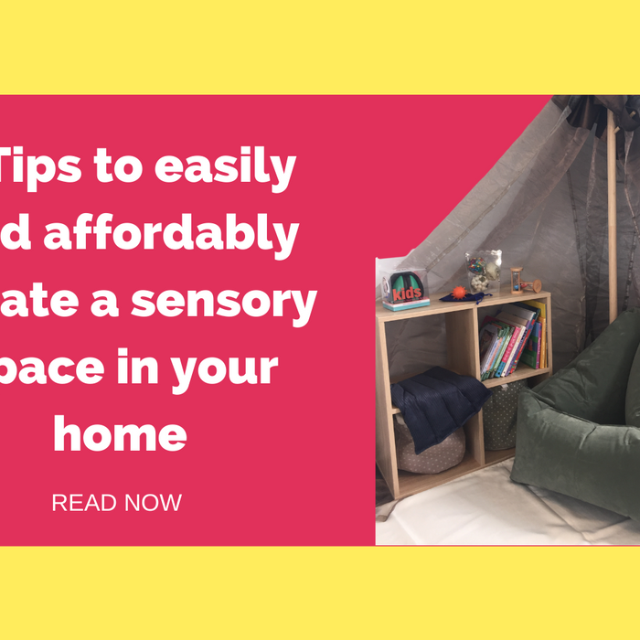 5 Tips to easily and affordably create a sensory space in your home - Special Needs Australia