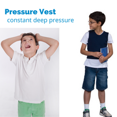 Pressure Vests for Children and Adults
