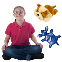 Weighted Pets keep your child relaxed