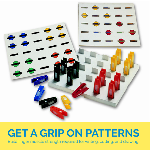 Get a Grip on Patterns Fine Motor Game