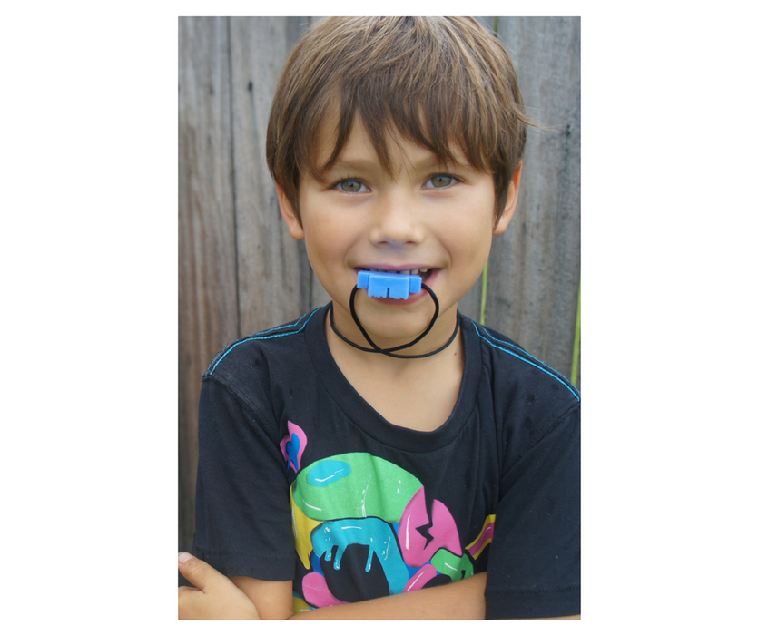 Junior Robot Pendant - Sensory Chew Necklace for Boys