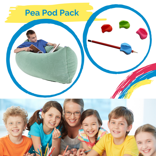 Pea Pod & Pencil Grips School Pack