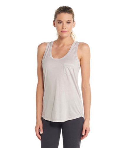 Scoop-Neck Pocket Tank
