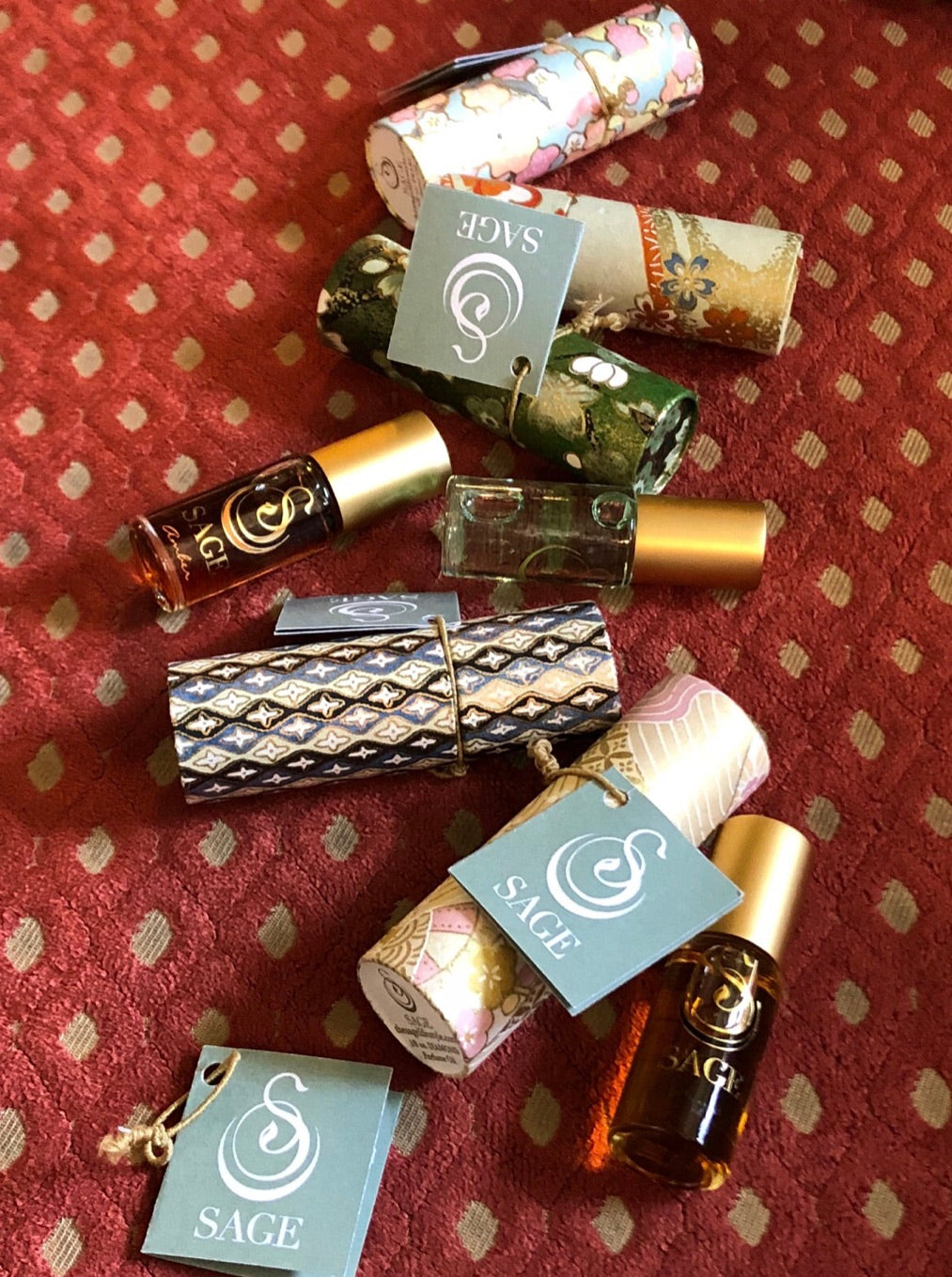 Sage Gemstone Perfume Oil Roll-On
