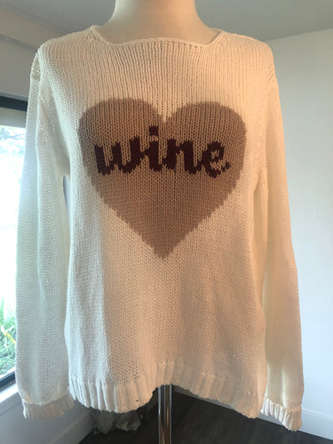 Wine Time Sweater