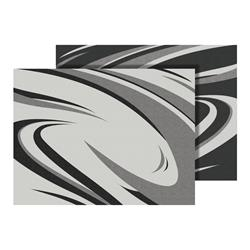 Faulkner RV Mat SWISH - Black/Grey
