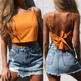 Cora Bow Crop Top
