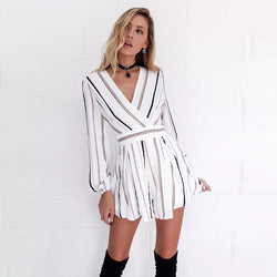 Fiona Long Sleeved Playsuit