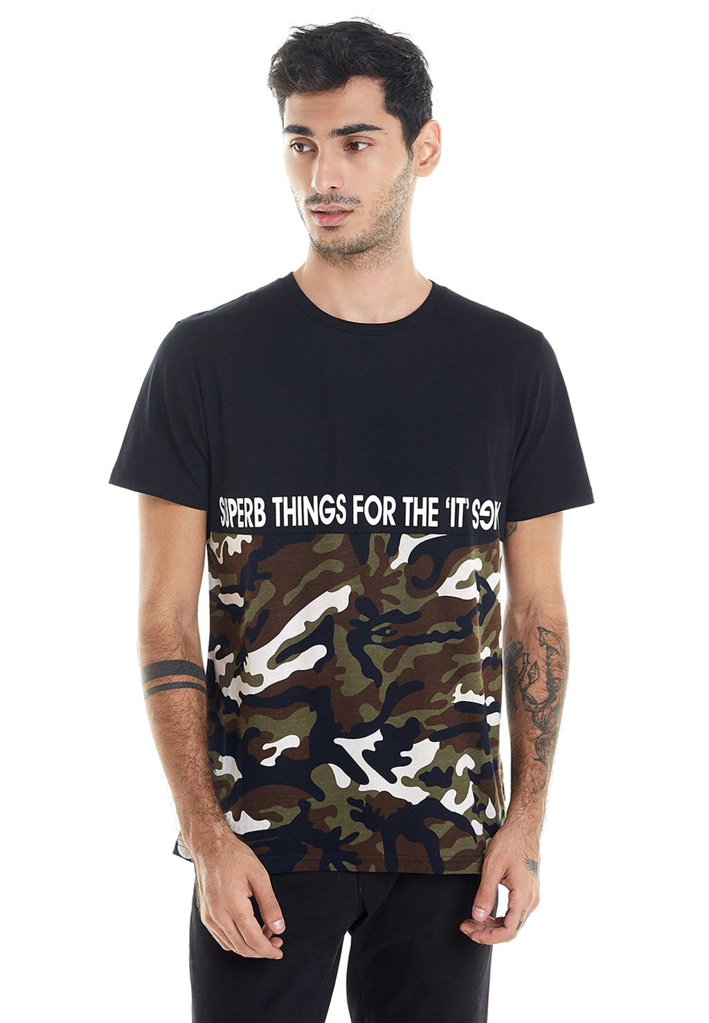 BLACK ARMY SUPERB TSHIRT