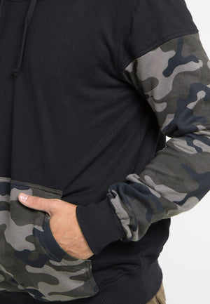 SWEATER HOODIE ARMY - GREY