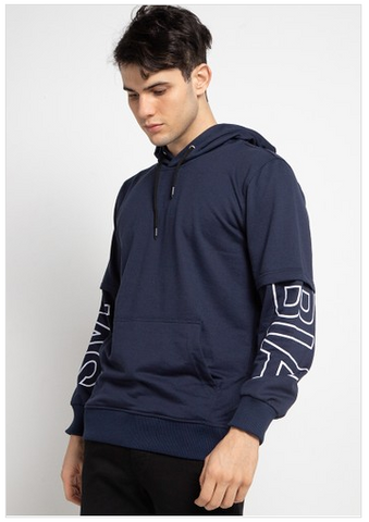 SVPERBIA Hoodies Sweaters On Hand Navy