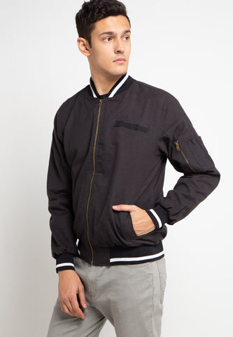 SVPERBIA Jacket Baseball Cubicle Black