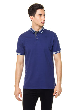 FINN BLUE POLO SHIRT