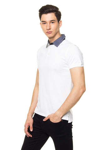 ARDEN WHITE POLO SHIRT