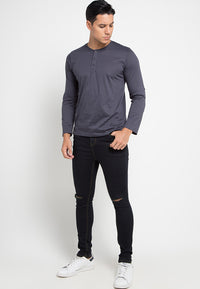 LS Basic Secoder TShirt - Dark Grey