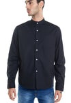 LONG OXFORD BLACK