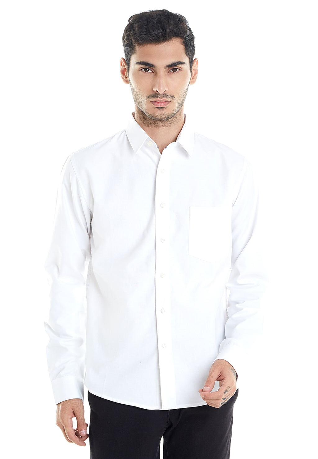 LONG OXFORD WHITE SHIRT
