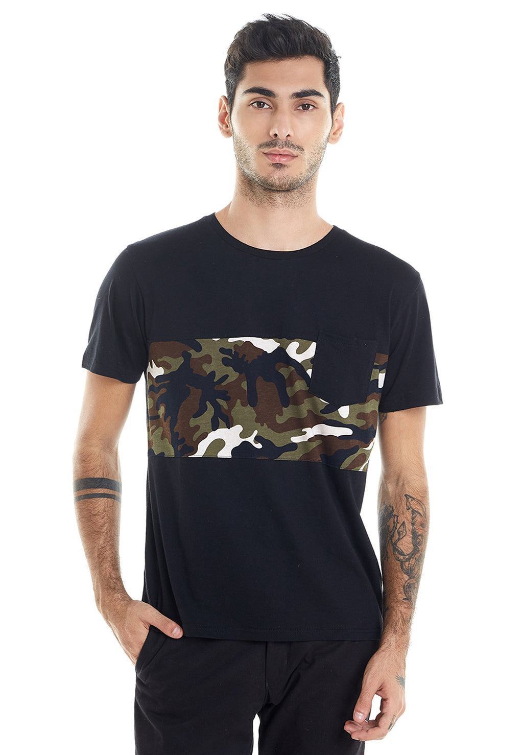POCKET ARMY BLACK