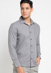 LS Flannel Plain Shirt