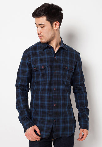 K3 LONG SLEEVES SHIRT 6 - BLUE