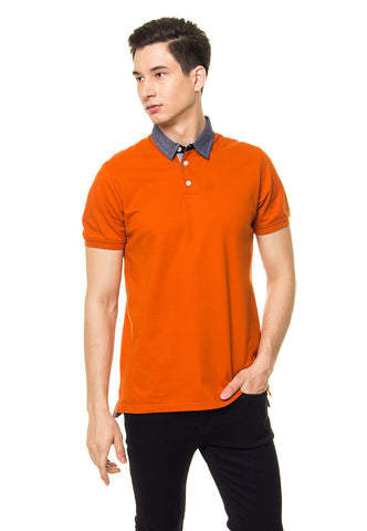 ARDEN ORANGE POLO SHIRT