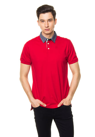 SVPERBIA Arden Polo Shirt Red
