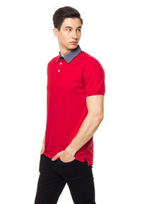 ARDEN RED POLO SHIRT