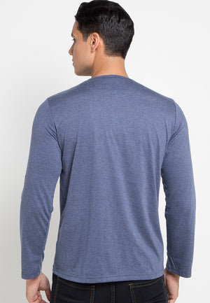 LS Basic Secoder TShirt - Misty Blue
