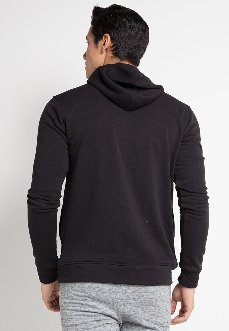 SWEATER OBLIQUE - BLACK