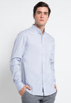 CERULEAN BLUE STRIPES SHIRT