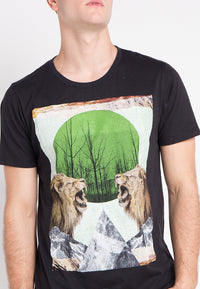 Lion Tshirt - Black
