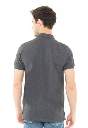 THE ESSENTIAL MISTY GREY POLO SHIRT