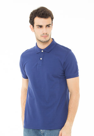 THE ESSENTIAL BLUE POLO SHIRT