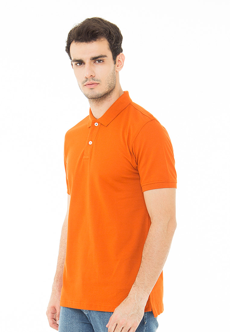 THE ESSENTIAL ORANGE POLO SHIRT