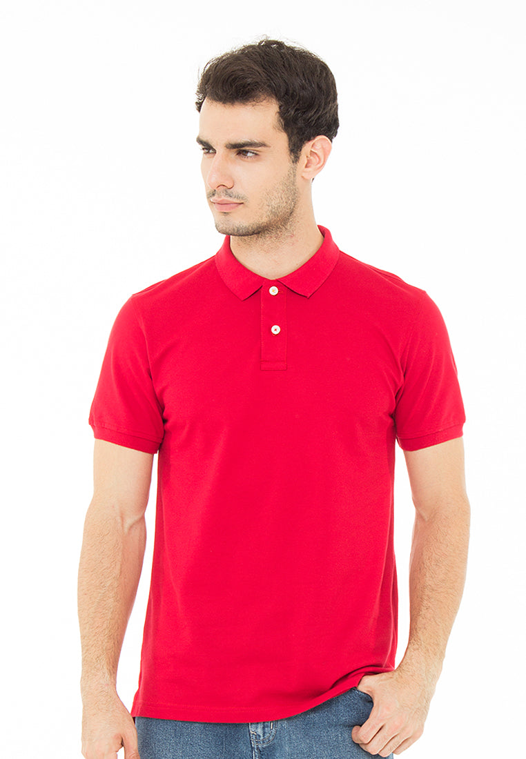 THE ESSENTIAL RED POLO SHIRT