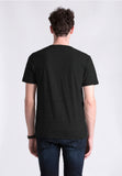 BASIC V TEE MISTY BLACK