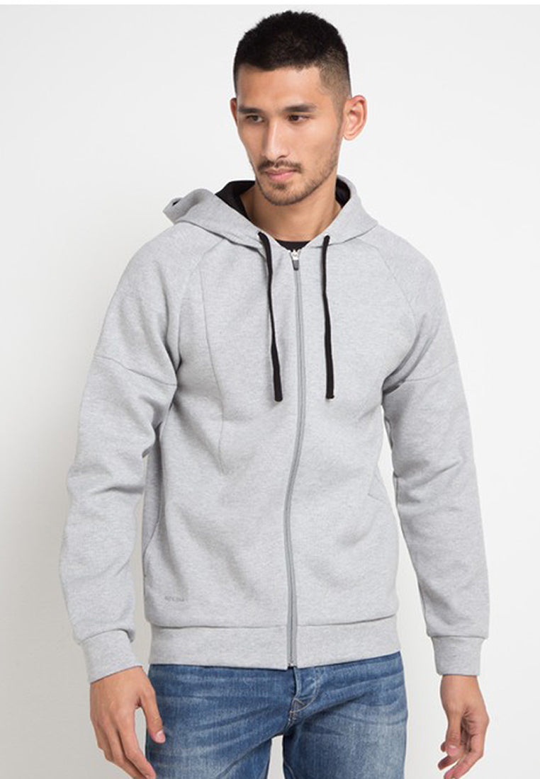100% quality quarantee beautiful in colour dependable performance Scuba Hoodie Plain - Grey