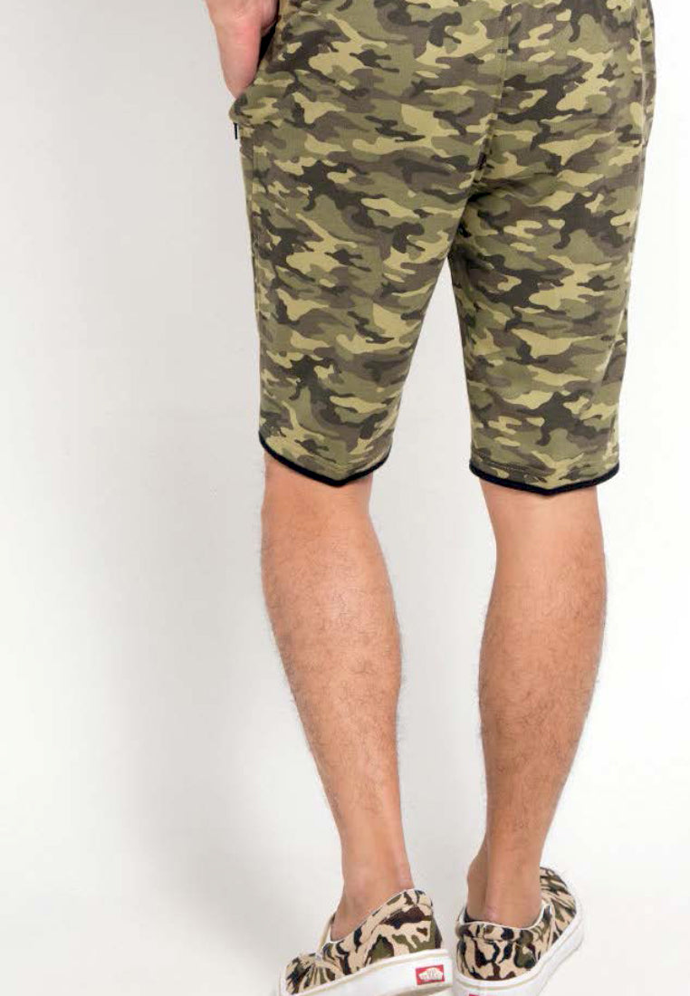 SHORT PANTS ARMY - GREEN