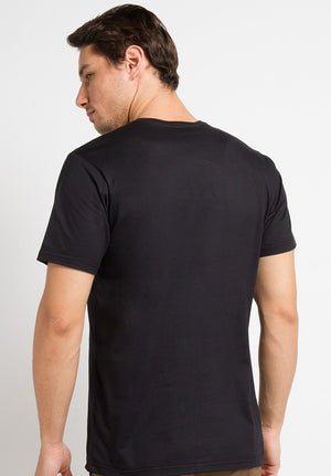 Basic Round T-Shirt - Black