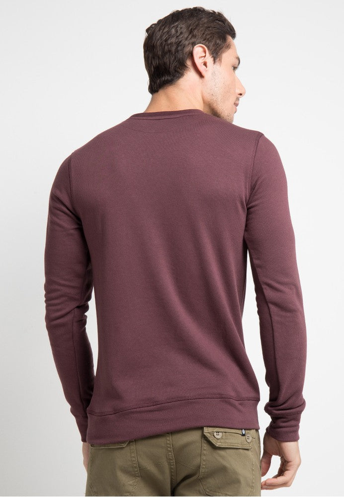 SWEATER MAROON SVPERBIA