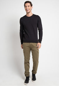 SWEATER BLACK SVPERBIA