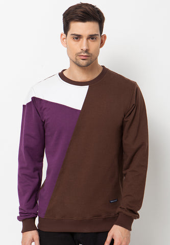 DARREL SWEATER - BROWN