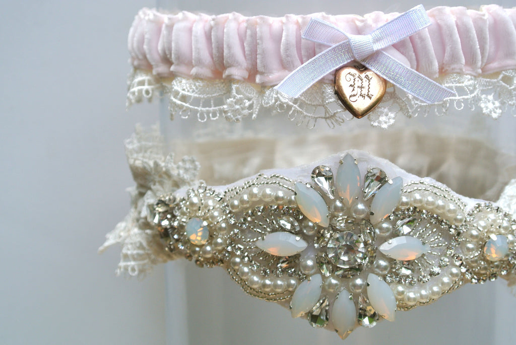 This Month I Worked With Three Different Brides To Create 3 Completely Unique Wedding Garters Sets