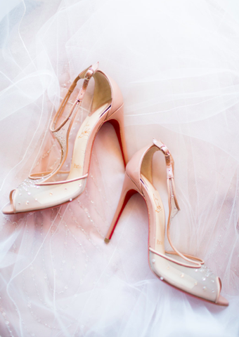 wedding christian louboutins
