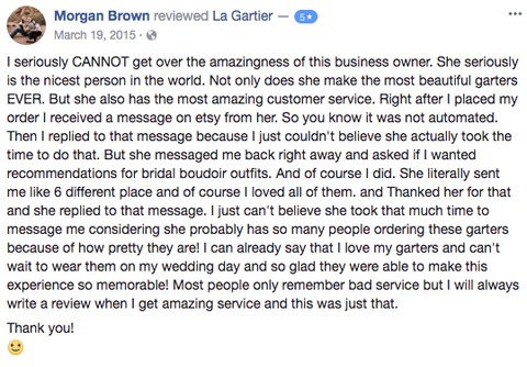 customer reviews for la gartier garters