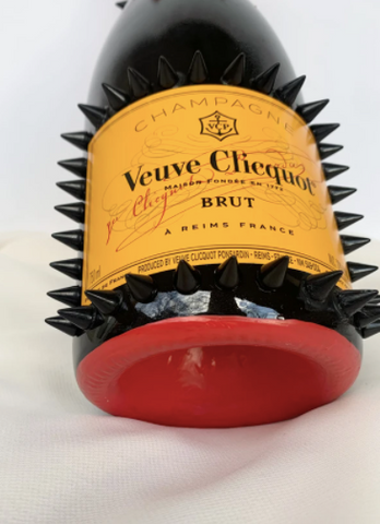 veuve clicquot bottle champage custom