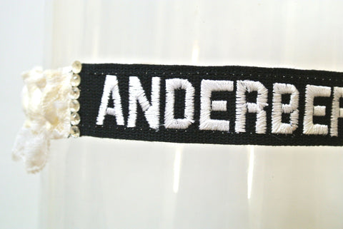 army name tag garter