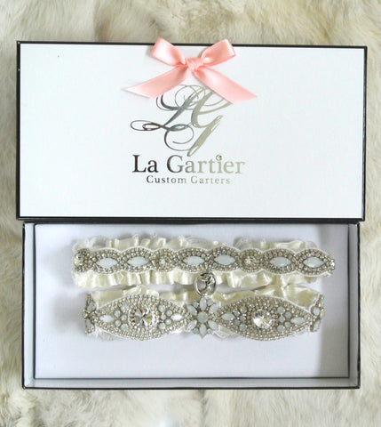natalie pack wedding garter